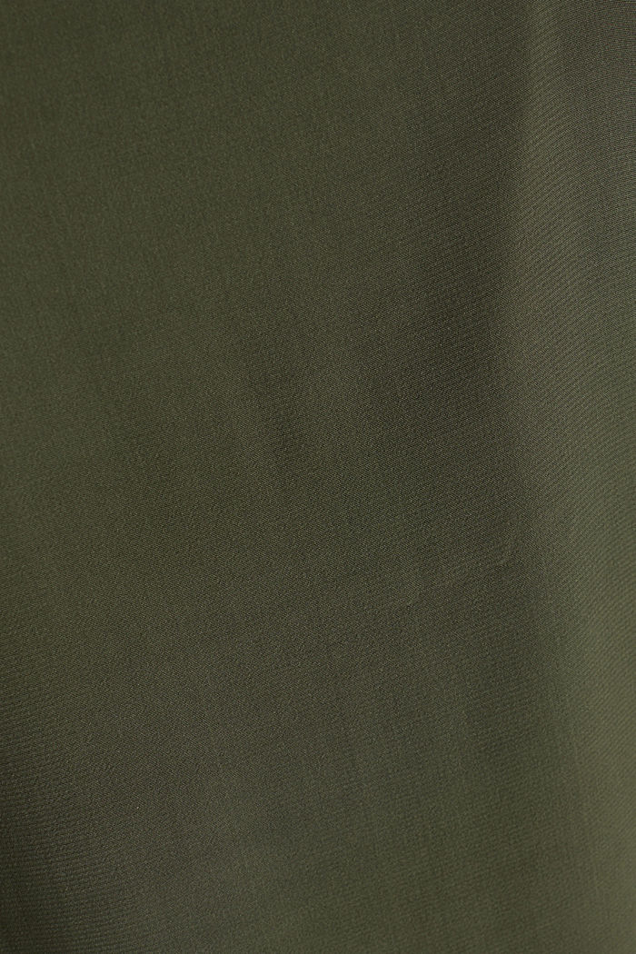 Strappy dress made of LENZING™ ECOVERO™, KHAKI GREEN, detail image number 3