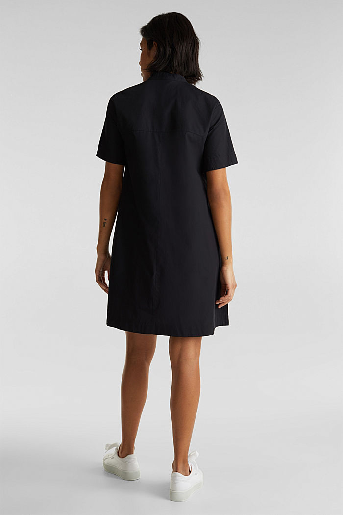 Utility dress made of organic cotton, BLACK, detail image number 2