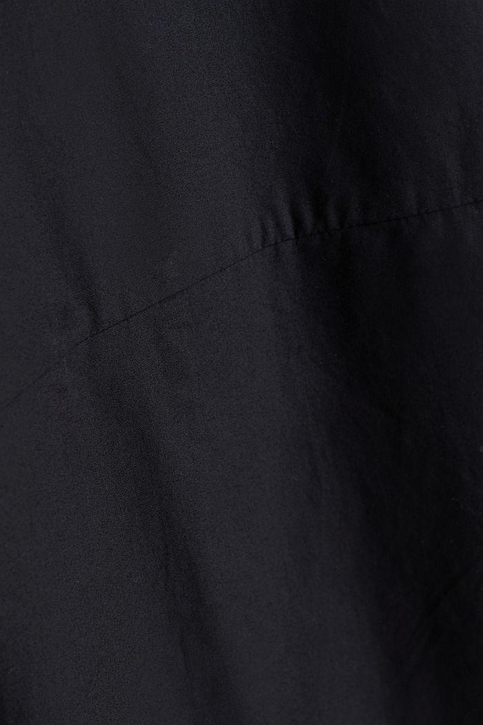 Utility-Dress aus Bio-Baumwolle, BLACK, detail image number 4