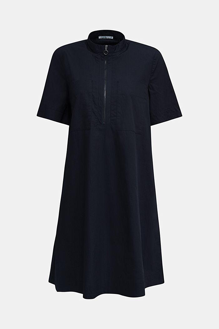 Utility-Dress aus Bio-Baumwolle, BLACK, detail image number 6