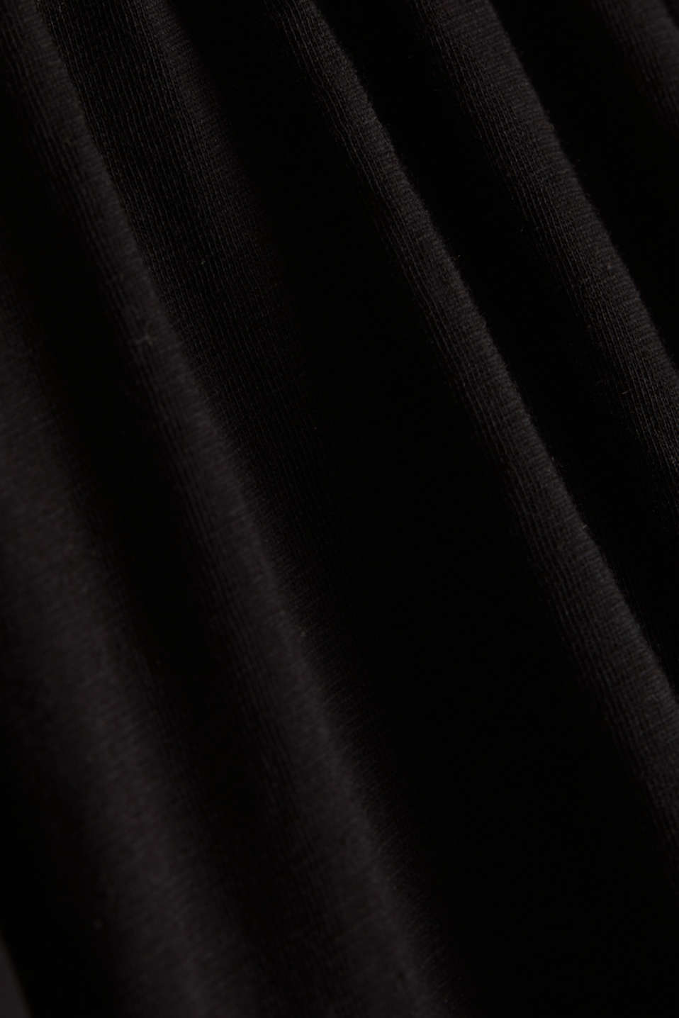 Maxi dress with embroidery, BLACK, detail image number 4
