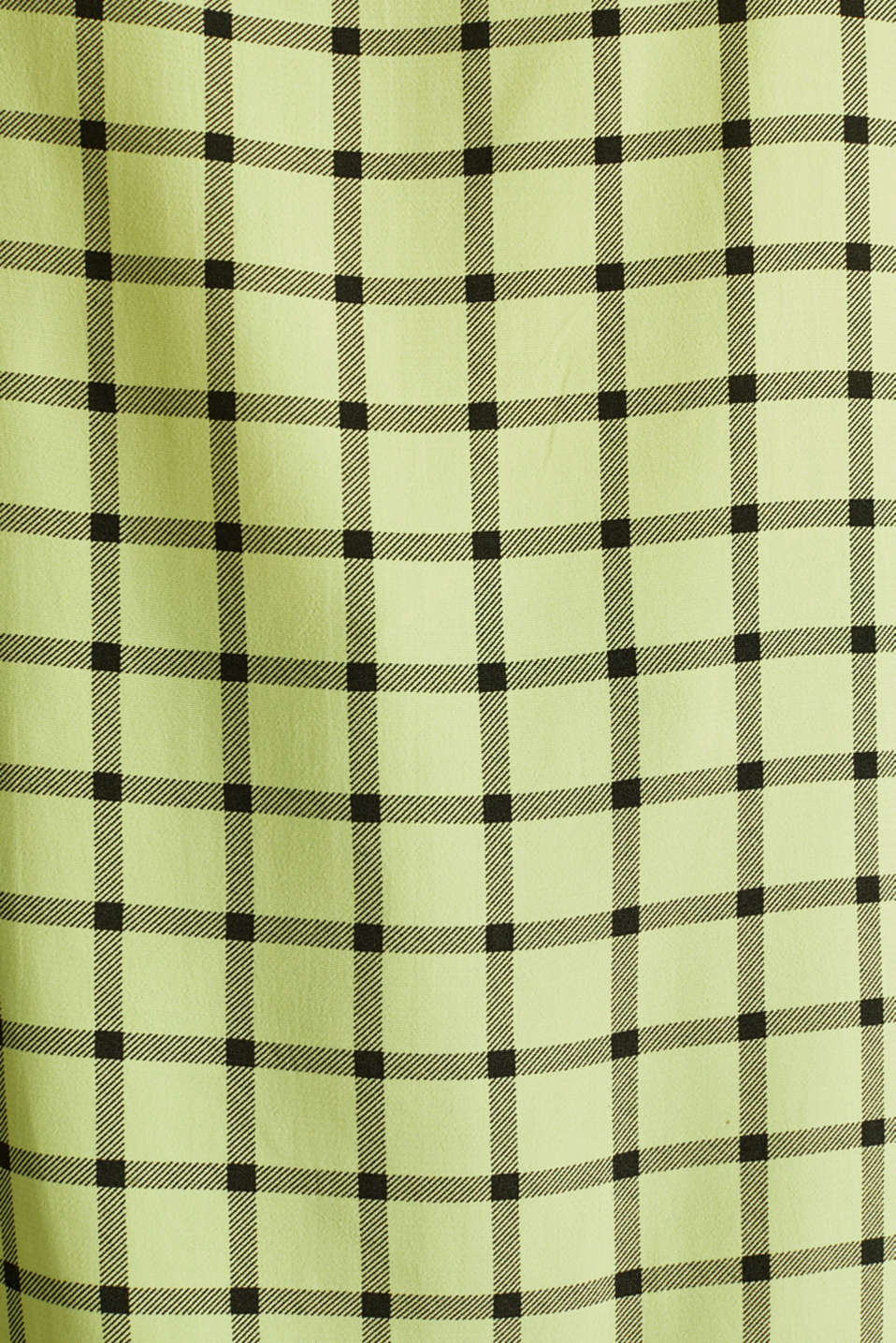 Top made of LENZING™ ECOVERO™, LIME YELLOW 3, detail image number 3
