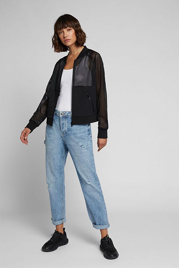 Jacket, BLACK, detail image number 1