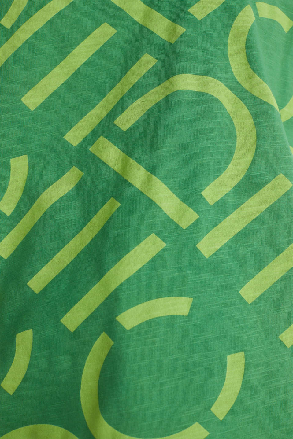 Top made of 100% organic cotton, GREEN, detail image number 3