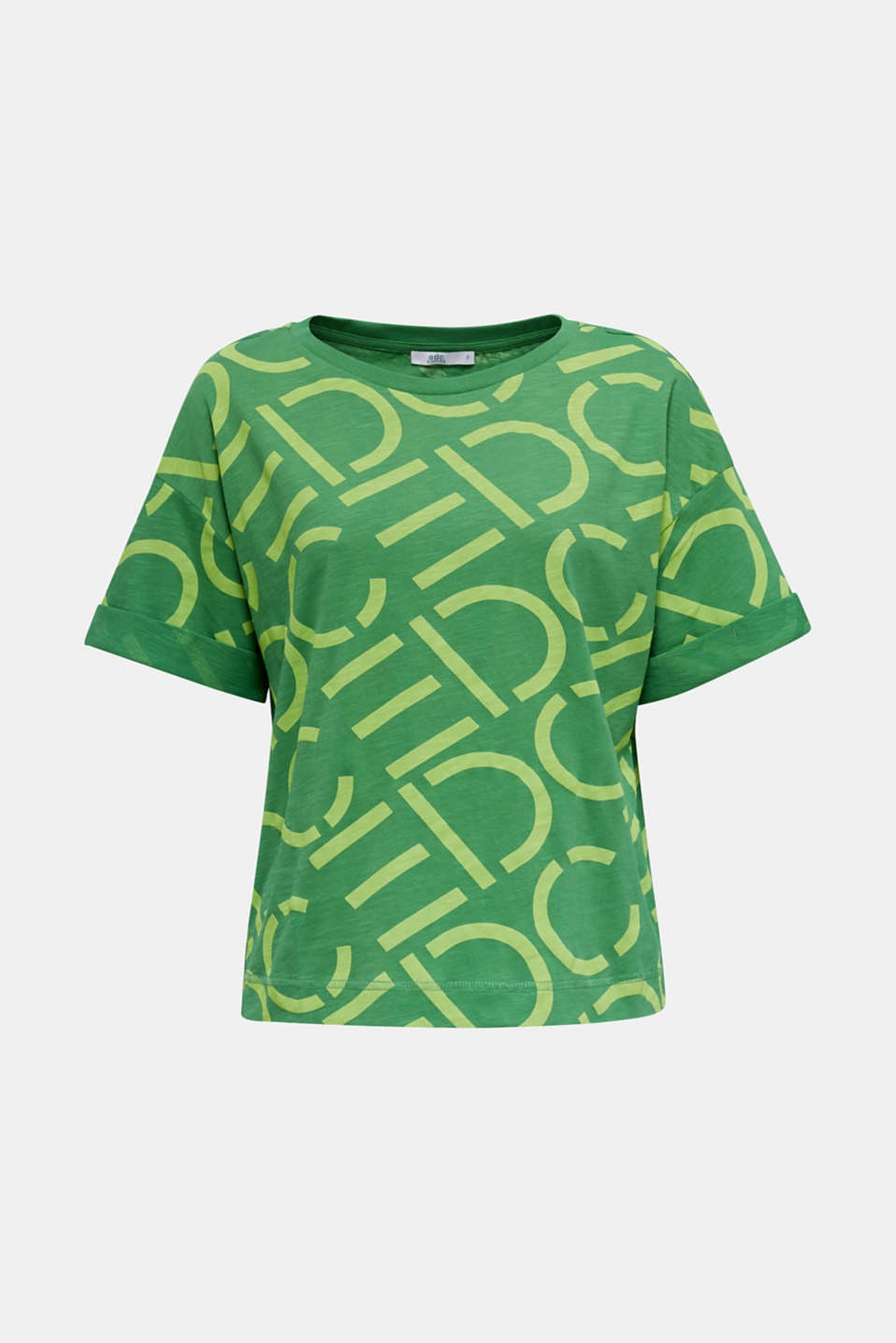 Top made of 100% organic cotton, GREEN, detail image number 6