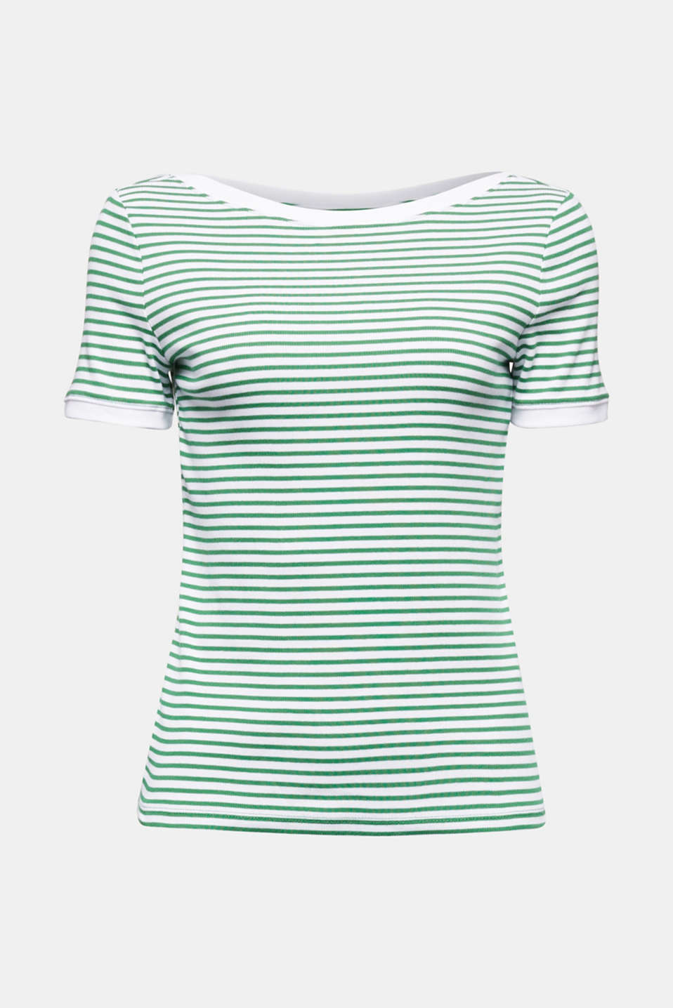 Top with organic cotton, GREEN, detail image number 6