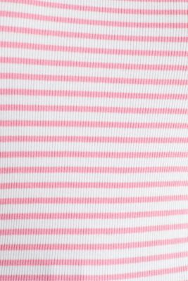 Top with organic cotton, PINK, detail