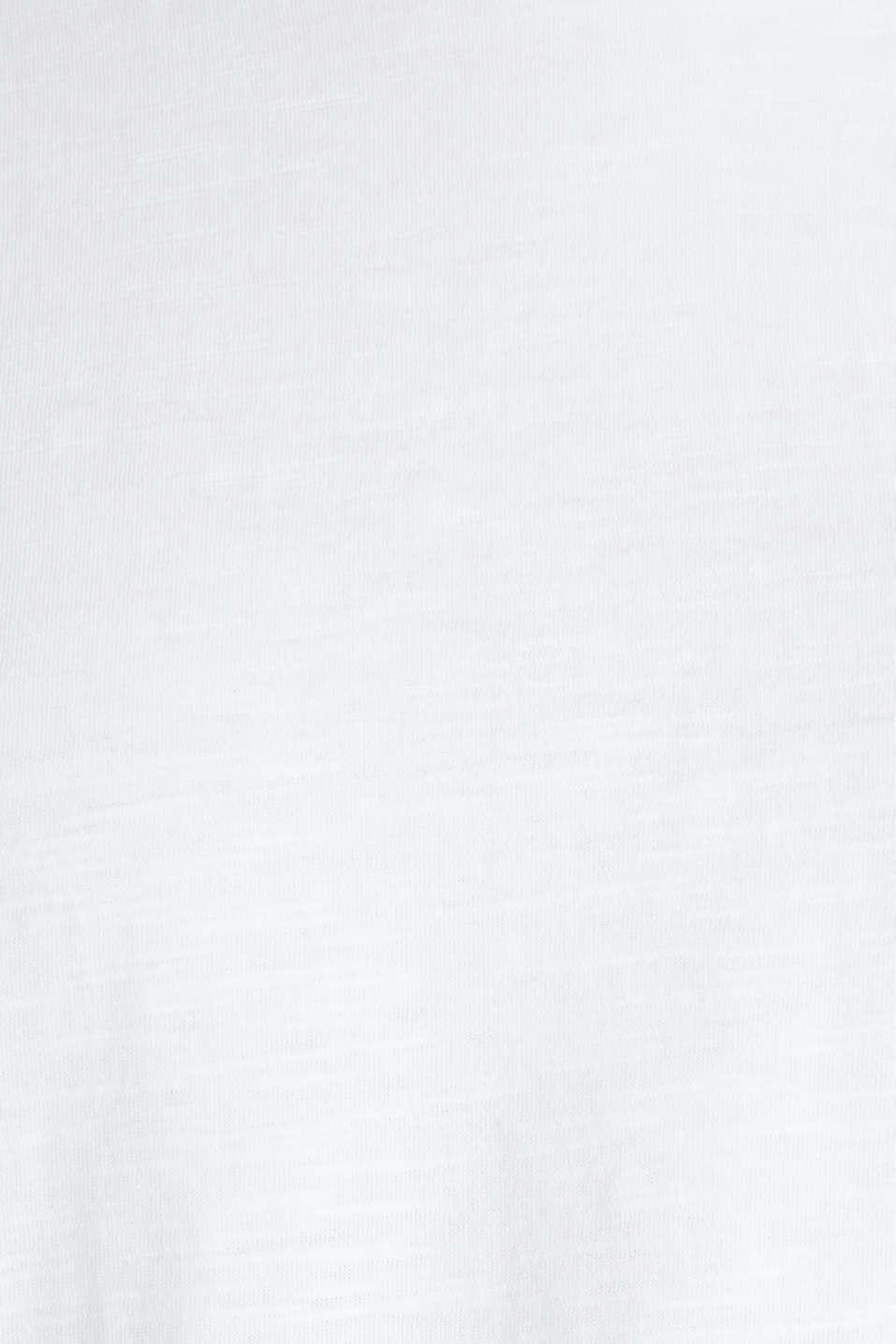 T-shirt, 100% organic cotton, WHITE, detail image number 4