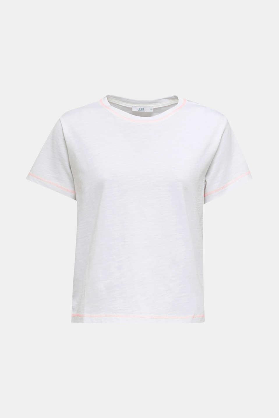 T-shirt, 100% organic cotton, WHITE, detail image number 7