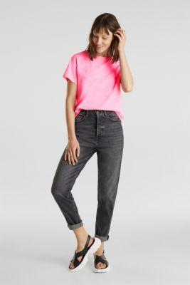 T-shirt, 100% organic cotton, PINK, detail