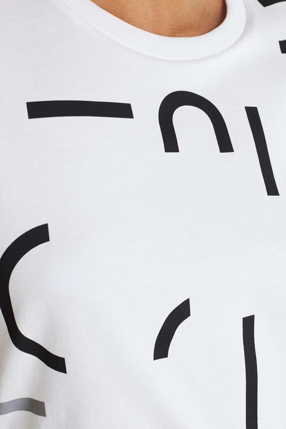 Logo top, 100% organic cotton, WHITE, detail image number 4