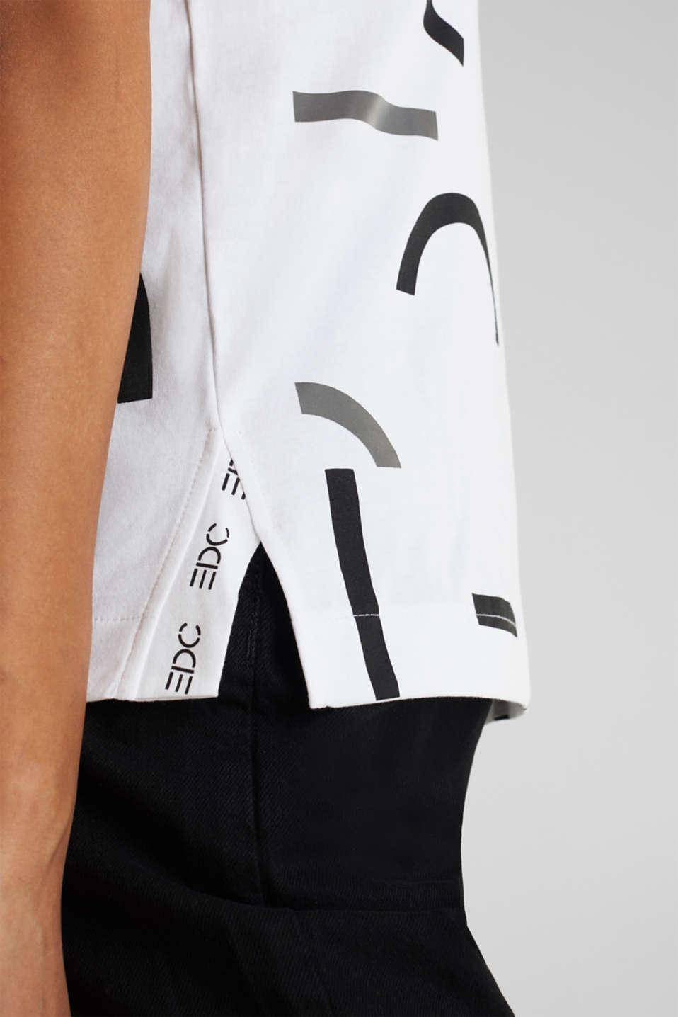 Logo top, 100% organic cotton, WHITE, detail image number 5
