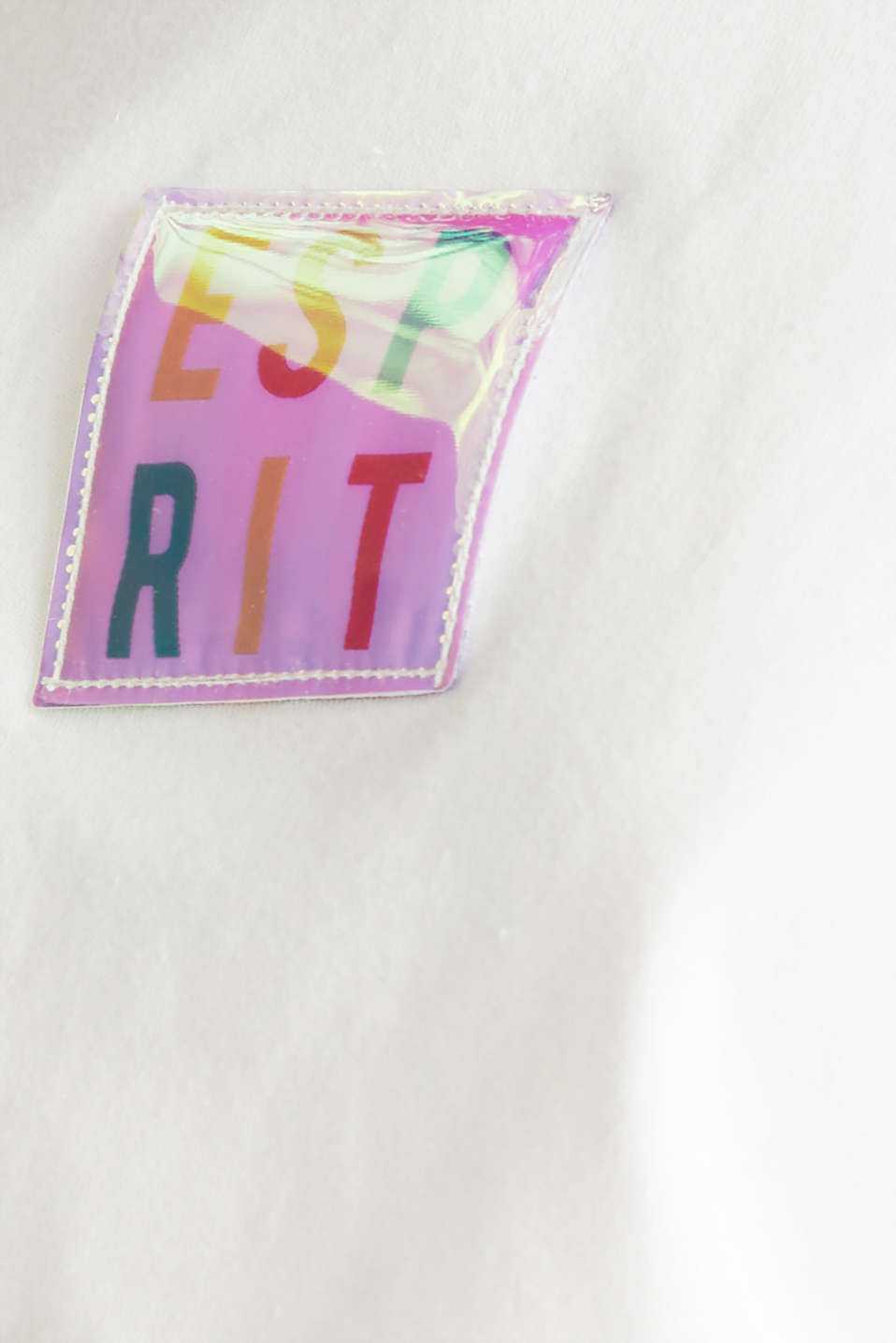 #throwback top, organic cotton, OFF WHITE, detail image number 4