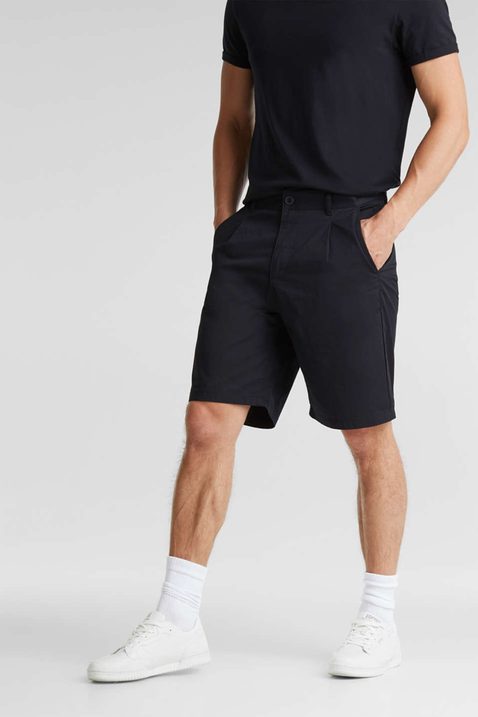 edc - Shorts with organic cotton