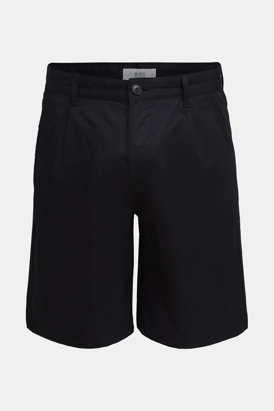 Shorts with organic cotton, BLACK, detail image number 5