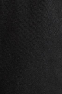shorts in 100% cotton, BLACK, detail