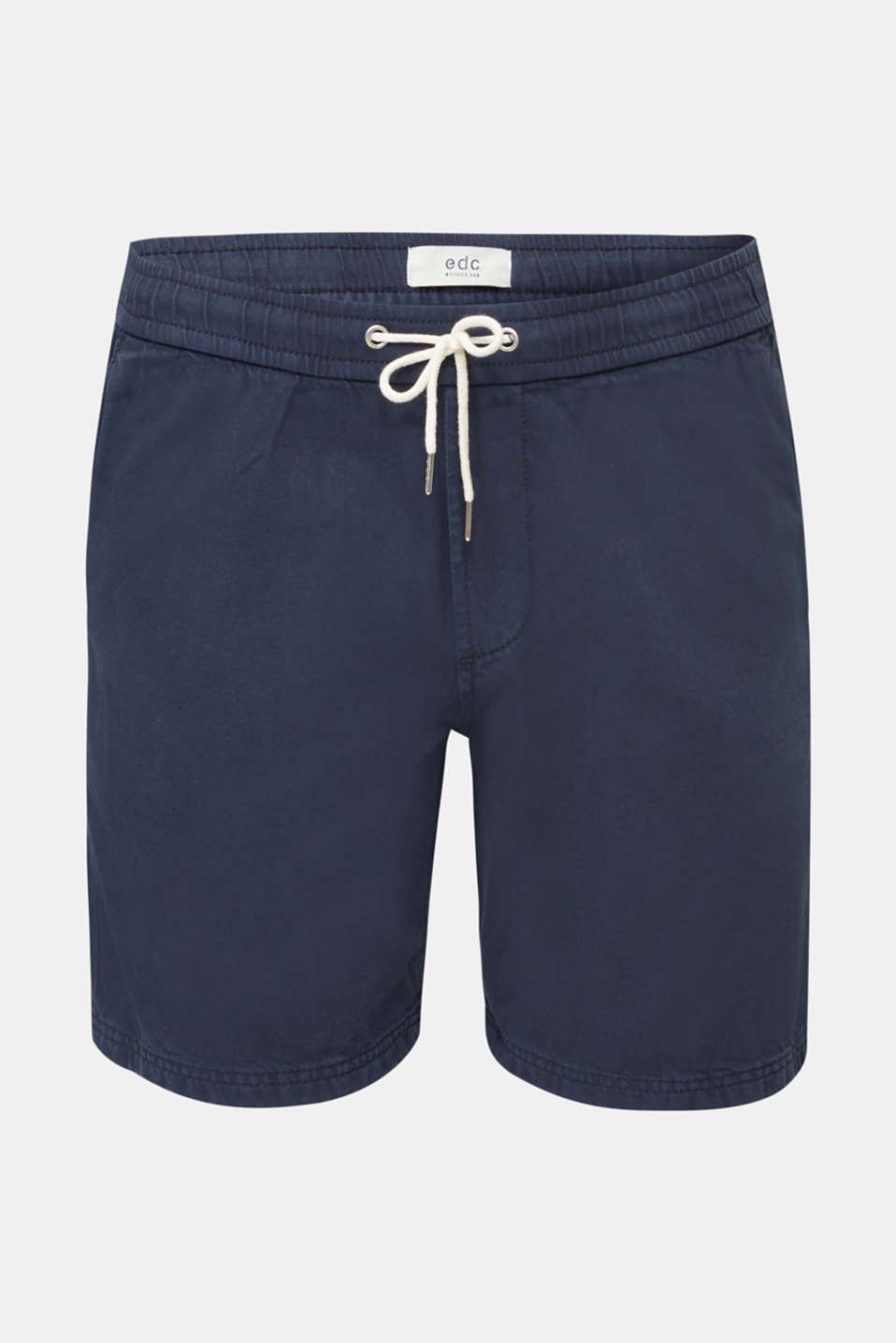 shorts in 100% cotton, DARK BLUE, detail image number 6