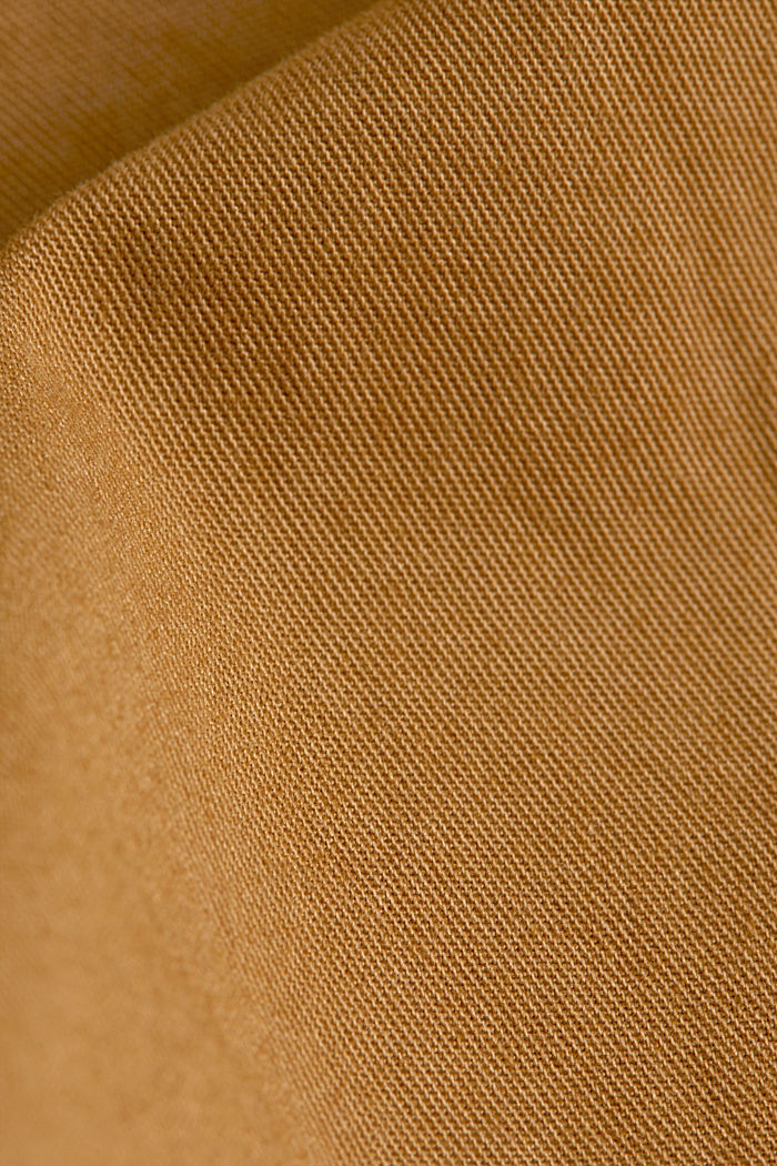 shorts in 100% cotton, CAMEL, detail image number 4