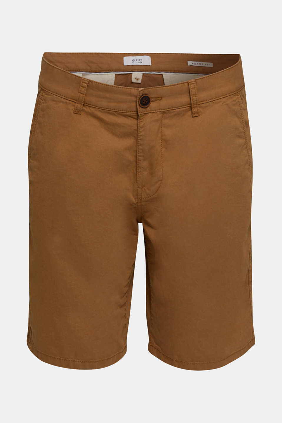 shorts in 100% cotton, CAMEL 2, detail image number 5