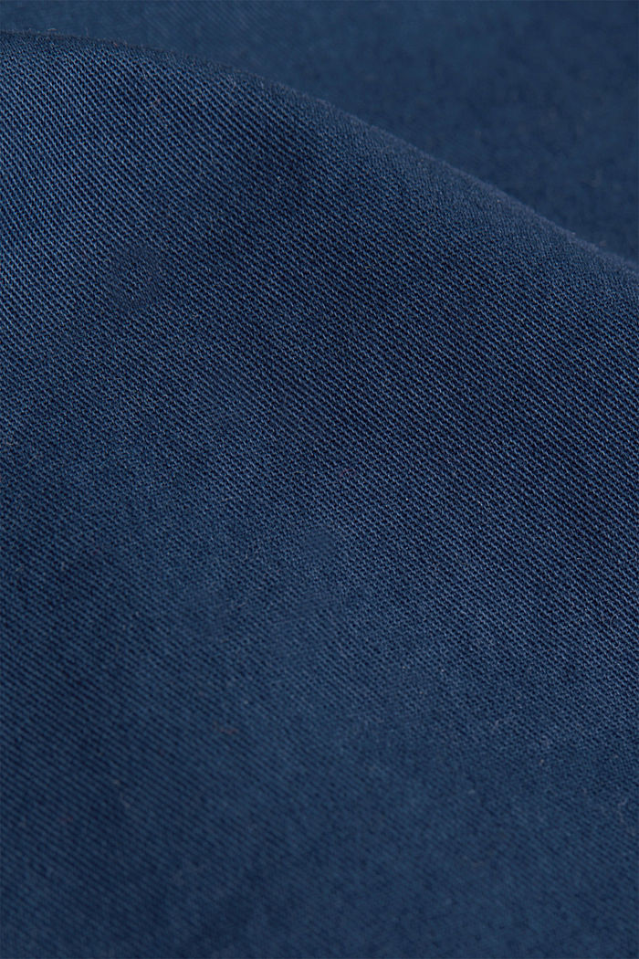 shorts in 100% cotton, DARK BLUE, detail image number 4