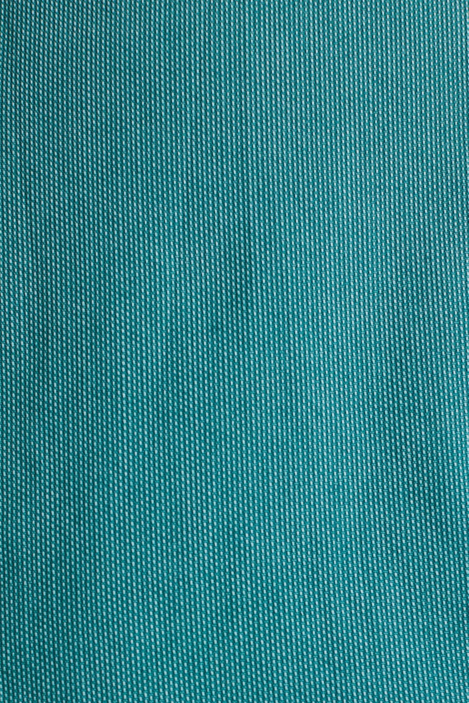 Textured shirt, 100% cotton, BOTTLE GREEN 2, detail image number 4