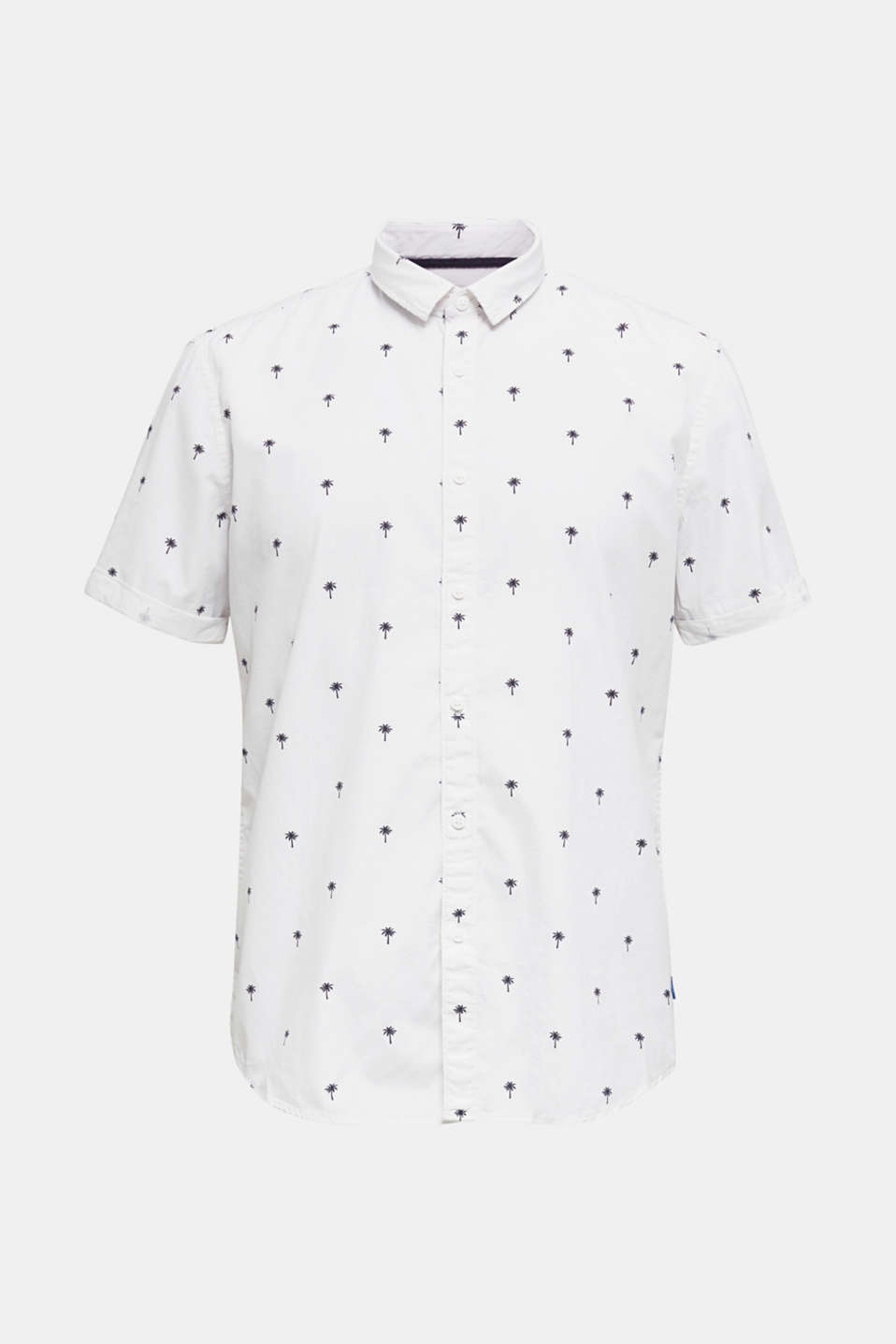 Printed T-shirt in 100% organic cotton, OFF WHITE 4, detail image number 6