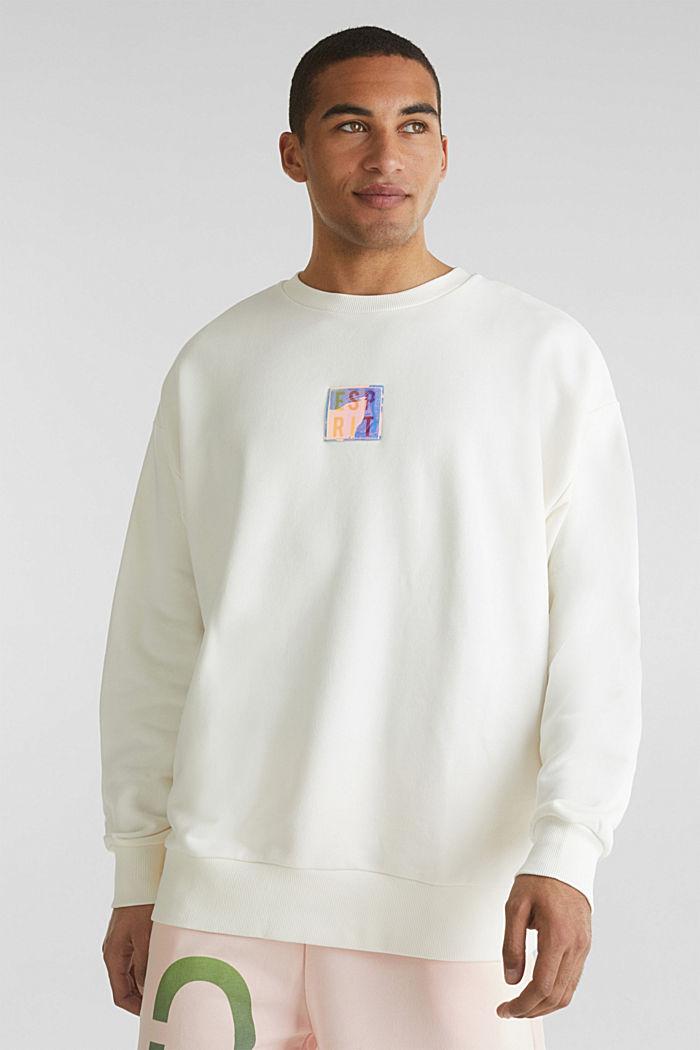 #throwback print sweatshirt, OFF WHITE, detail image number 0