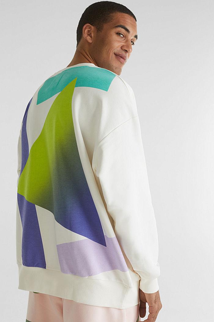 #throwback print sweatshirt, OFF WHITE, detail image number 3
