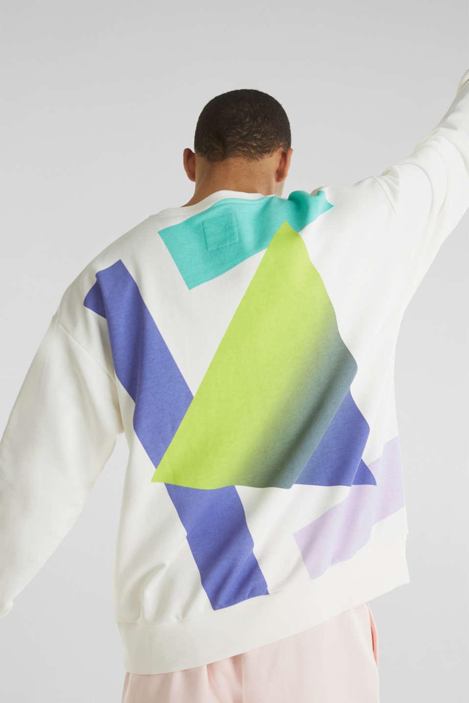 #throwback print sweatshirt, OFF WHITE, detail image number 4