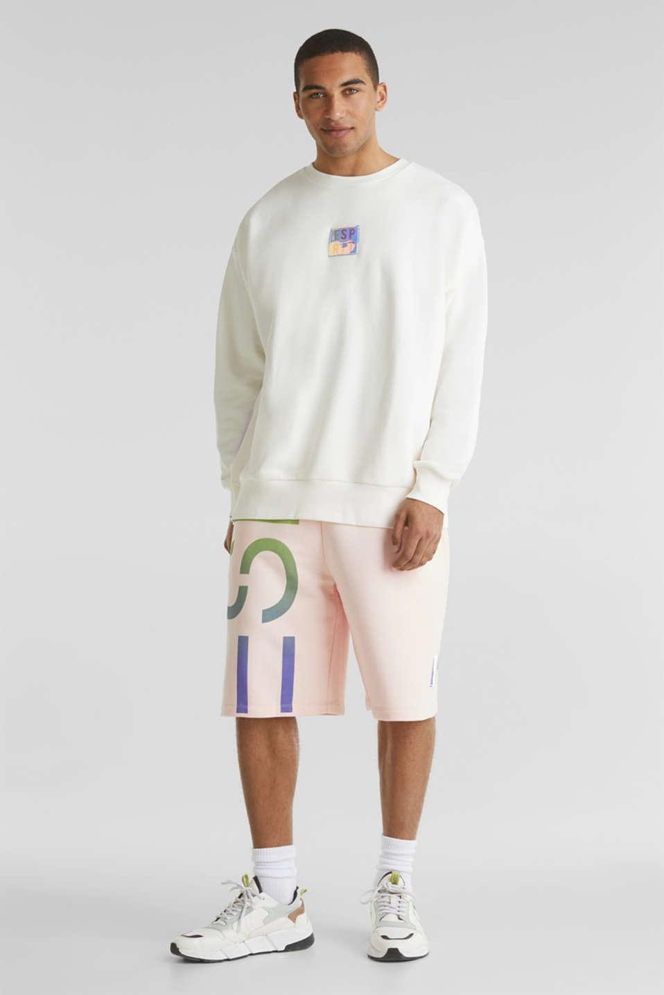 #throwback print sweatshirt, OFF WHITE, detail image number 1