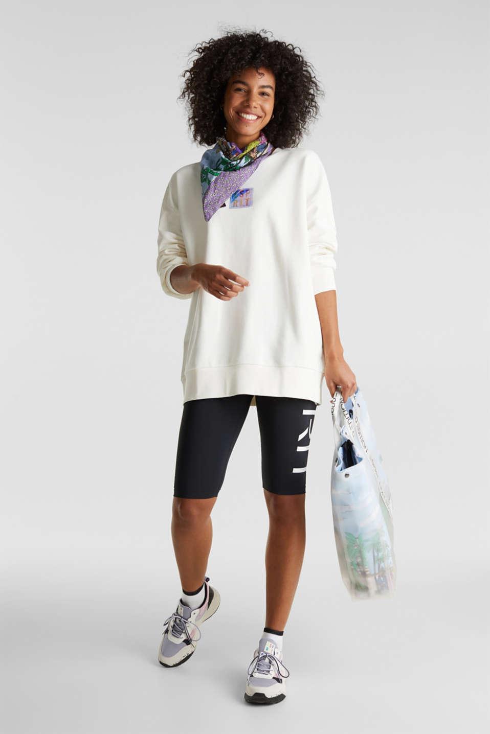#throwback print sweatshirt, OFF WHITE, detail image number 7