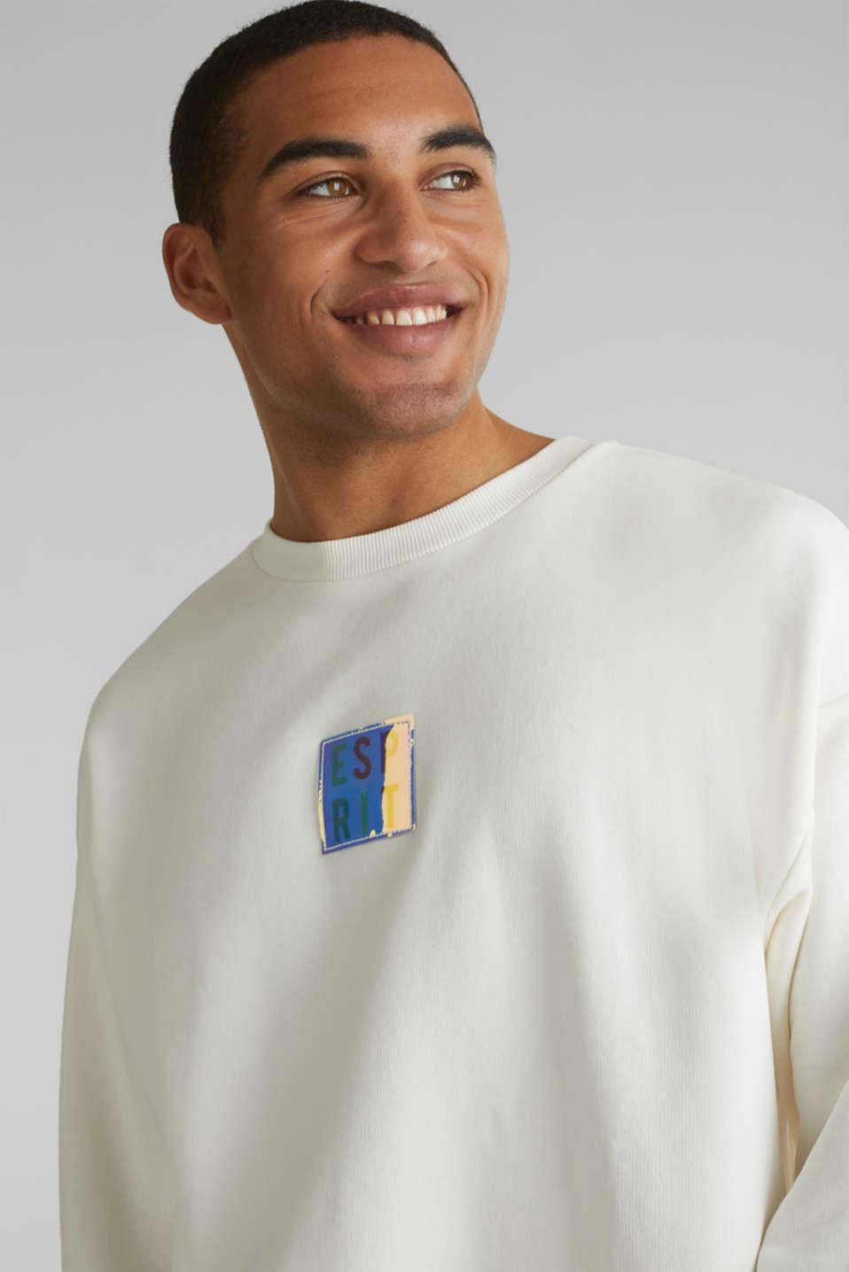 #throwback print sweatshirt, OFF WHITE, detail image number 6