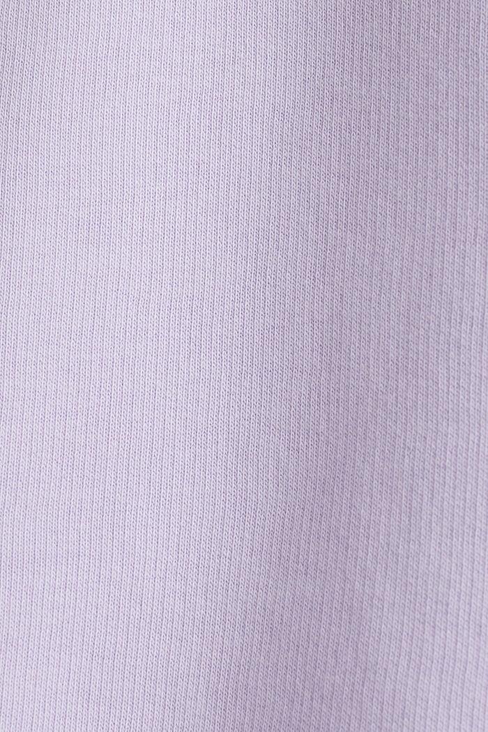 #throwback print sweatshirt, LAVENDER, detail image number 5