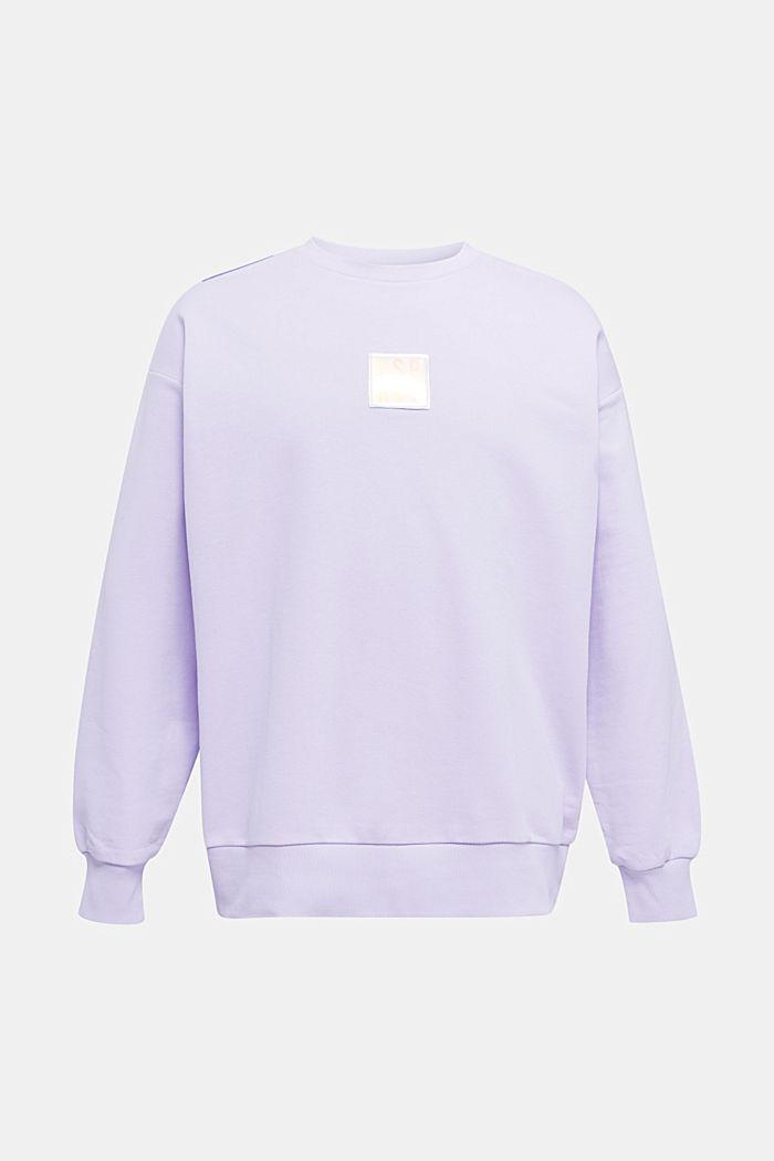 #throwback print sweatshirt, LAVENDER, detail image number 8