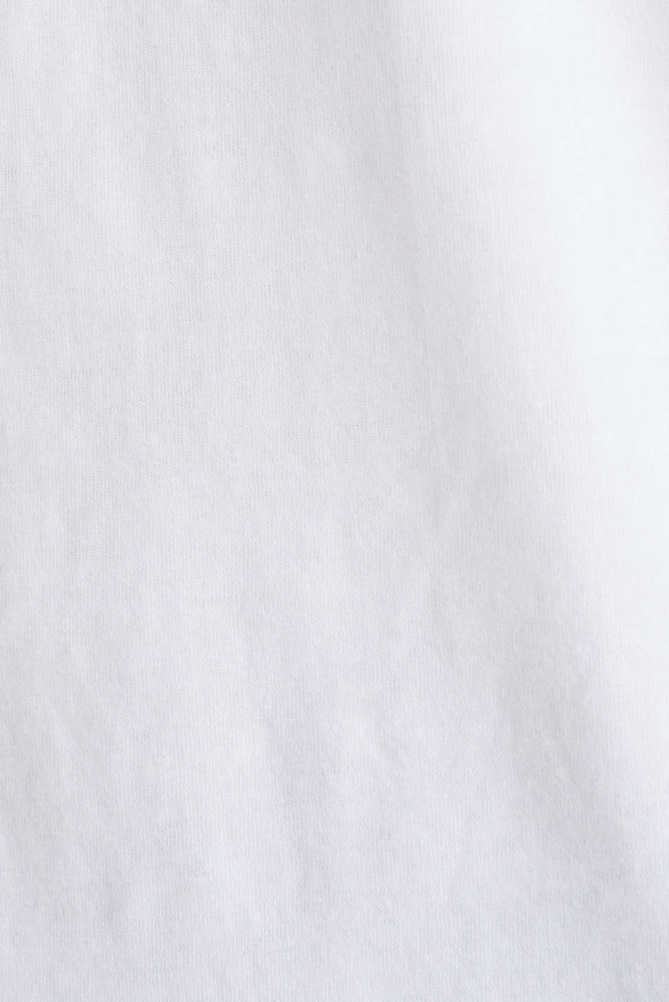 Printed jersey top made of 100% organic cotton, WHITE, detail image number 4