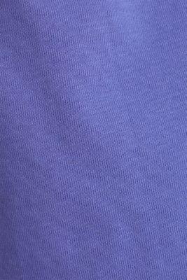 #Throwback top, 100% Organic Cotton, PURPLE, detail