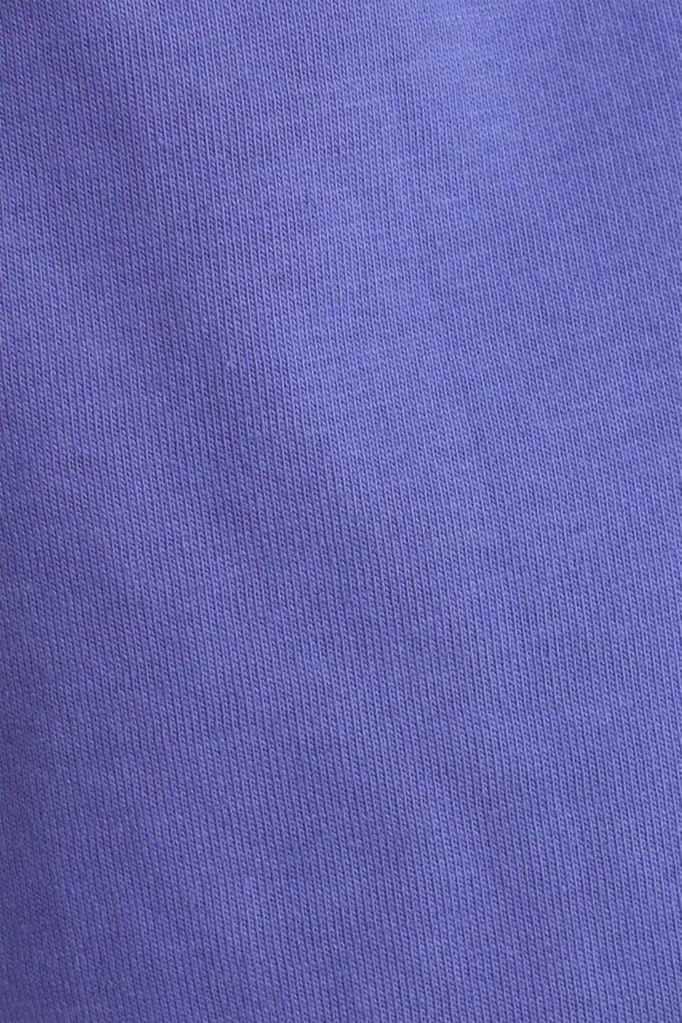 #Throwback top, 100% Organic Cotton, PURPLE, detail image number 4