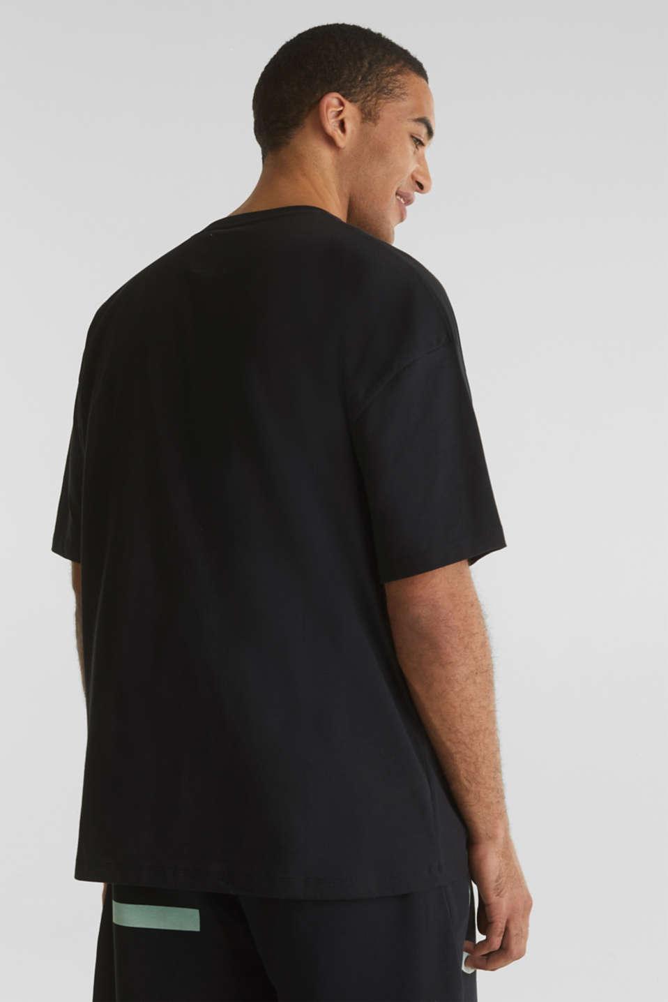 #throwback logo top, 100% organic cotton, BLACK, detail image number 3