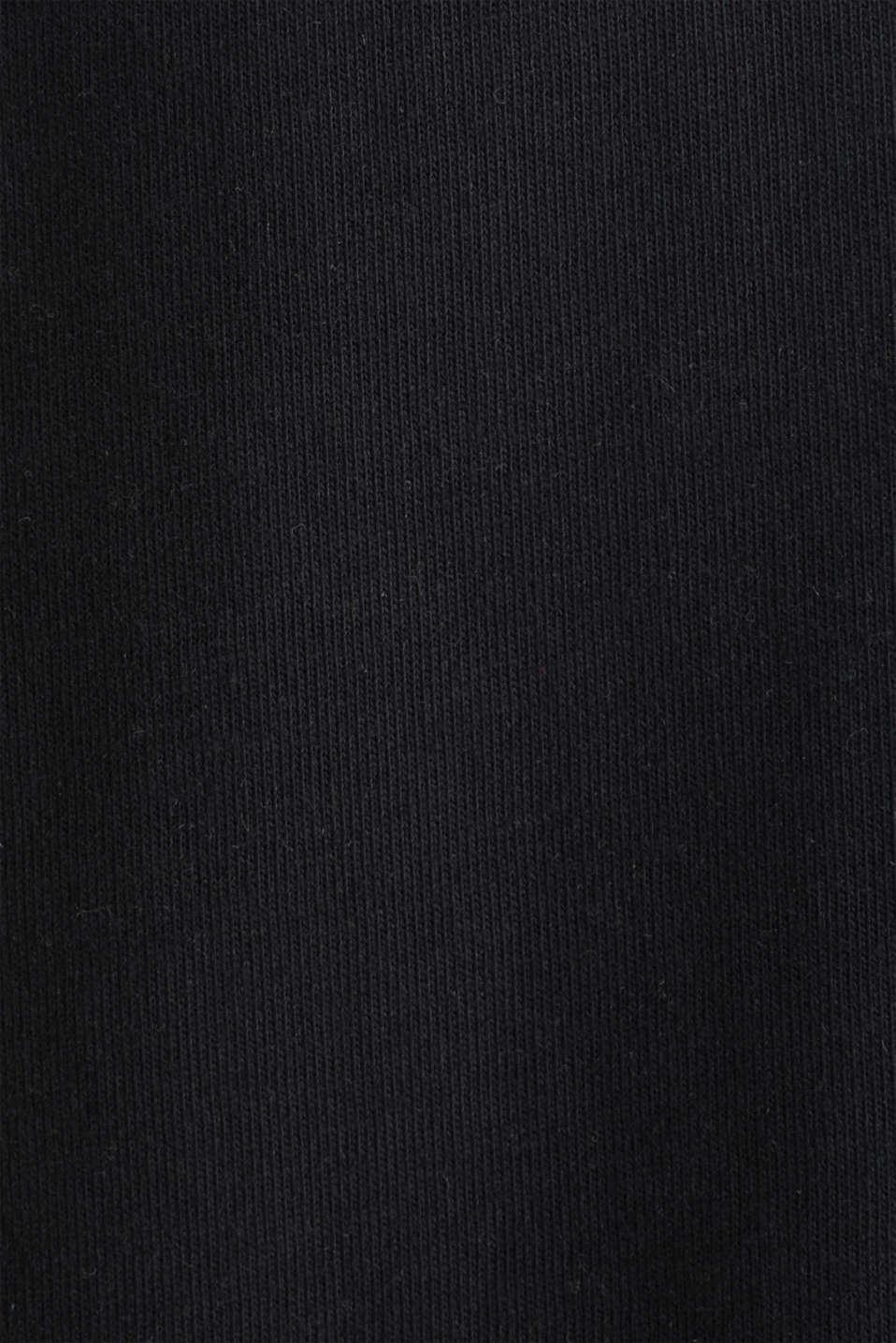 #throwback logo top, 100% organic cotton, BLACK, detail image number 4