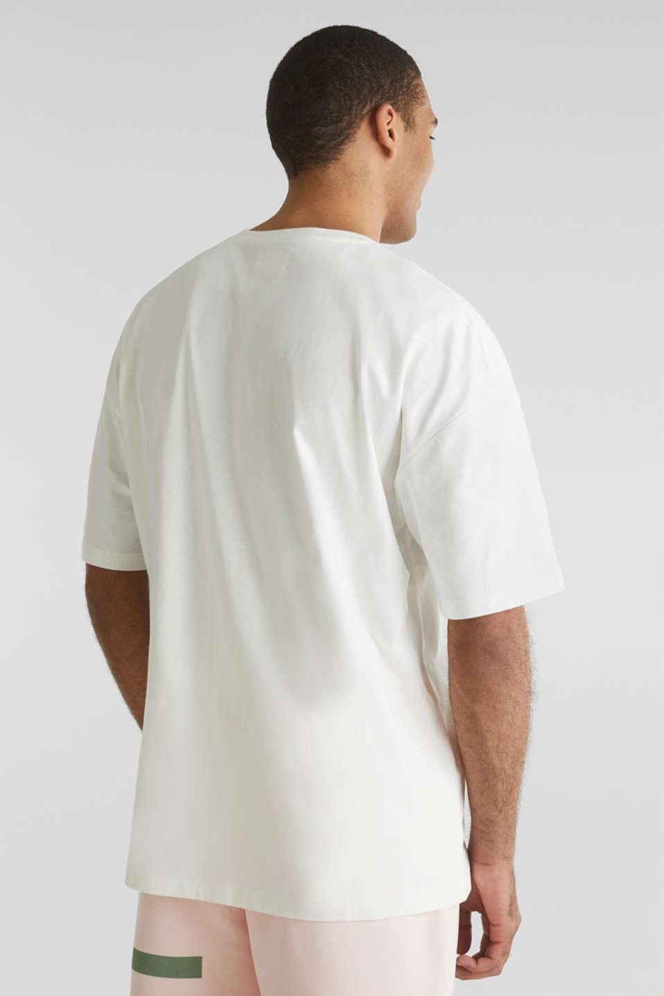 #throwback logo top, 100% organic cotton, OFF WHITE, detail image number 3