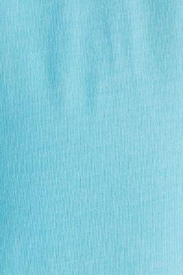 Jersey top, 100% organic cotton, LIGHT BLUE 2, detail