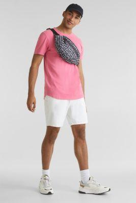 Jersey top, 100% organic cotton, PINK, detail