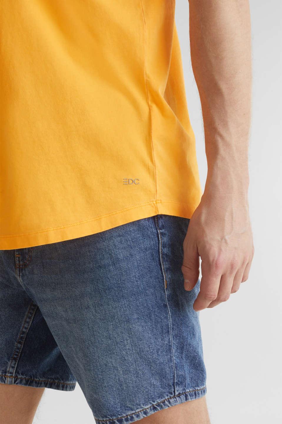 Jersey top, 100% organic cotton, ORANGE, detail image number 1