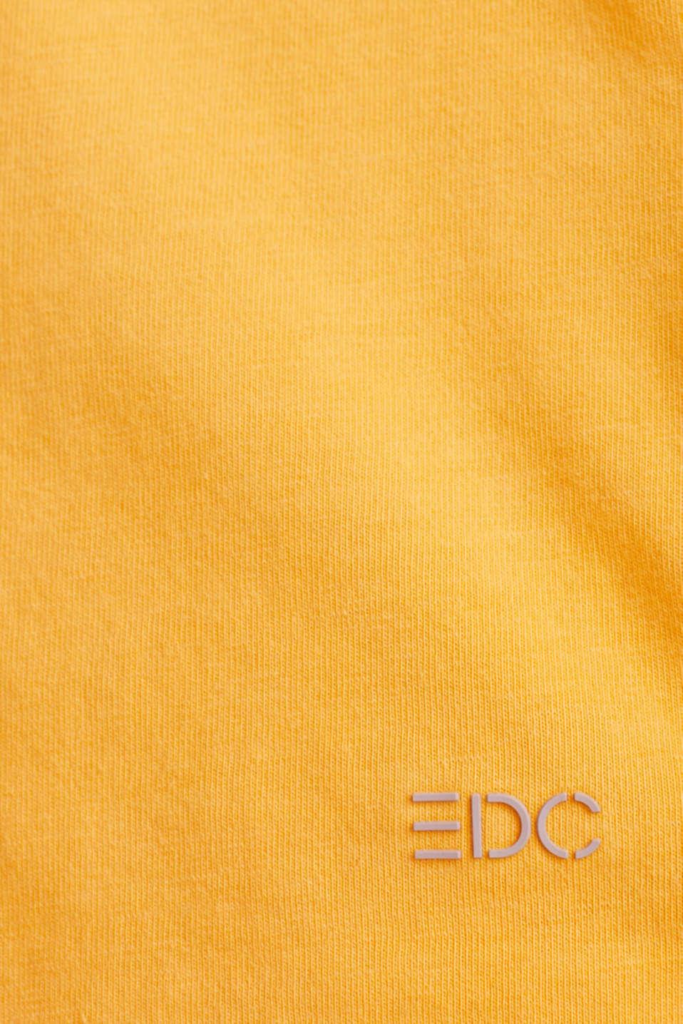 Jersey top, 100% organic cotton, ORANGE, detail image number 4