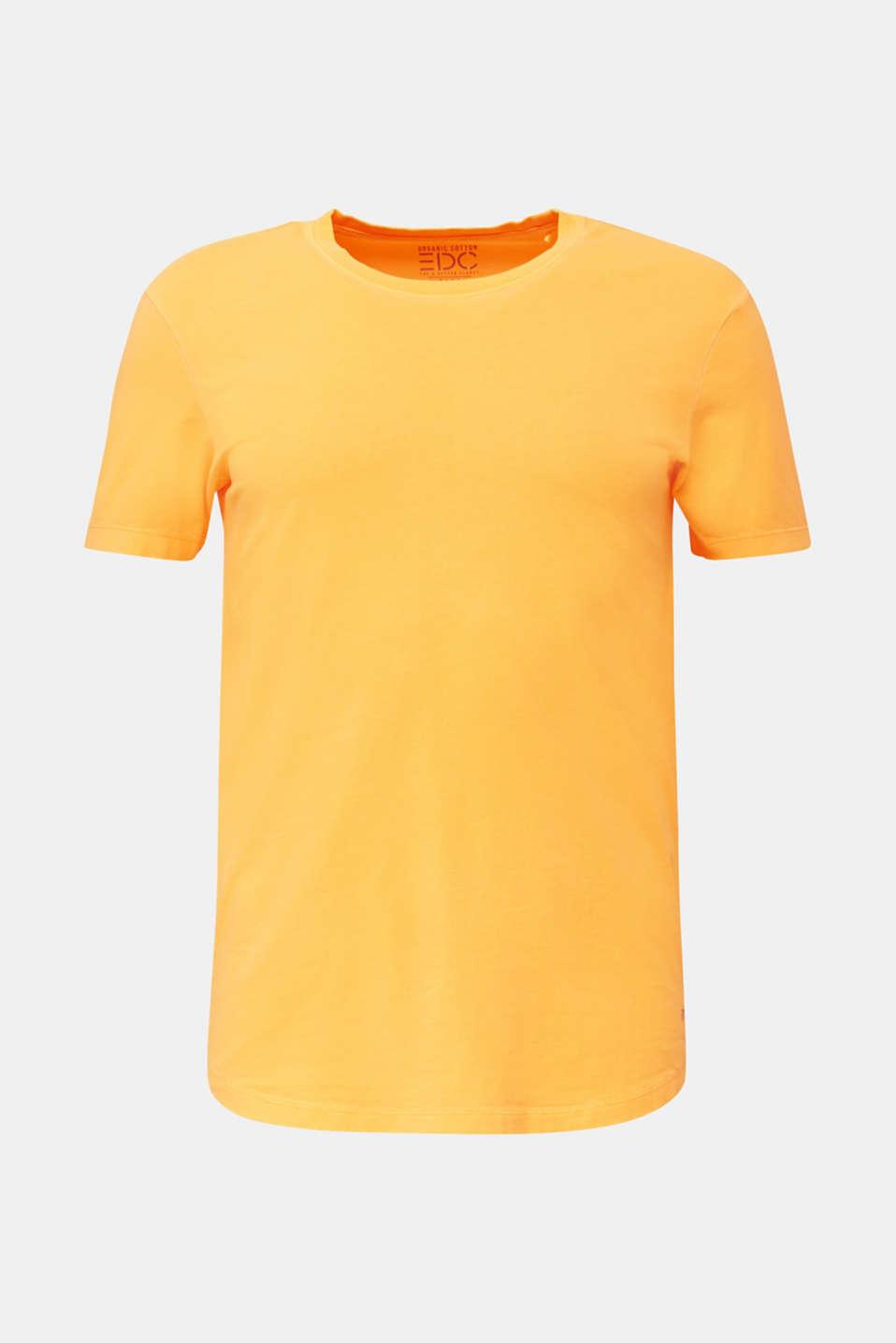 Jersey top, 100% organic cotton, ORANGE, detail image number 5