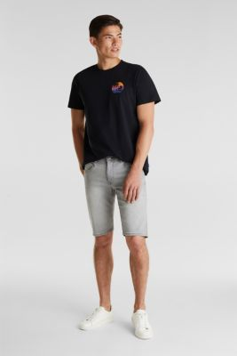T-shirt made of 100% organic cotton, BLACK, detail