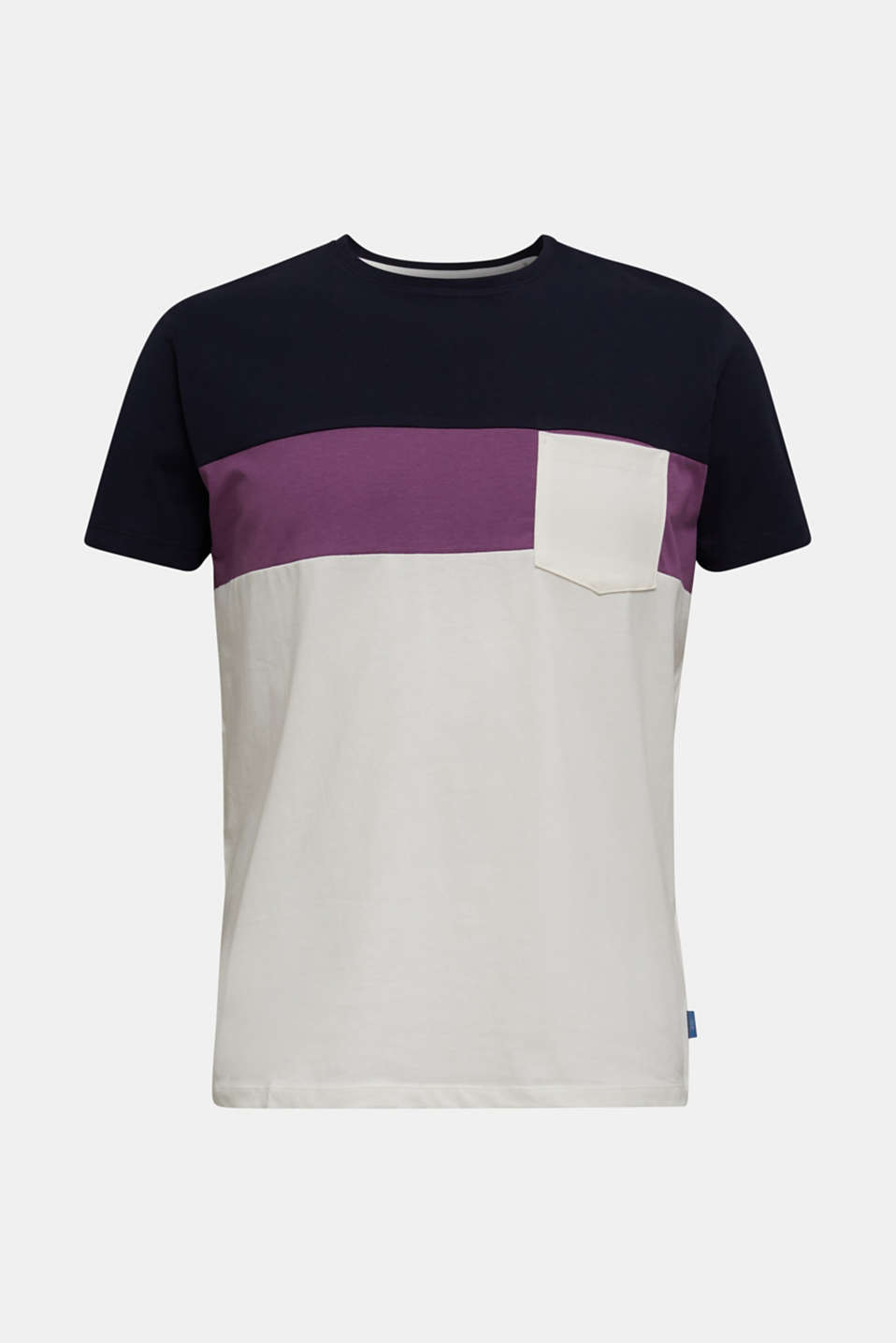 Jersey T-shirt with pocket, 100% organic cotton, OFF WHITE 2, detail image number 6