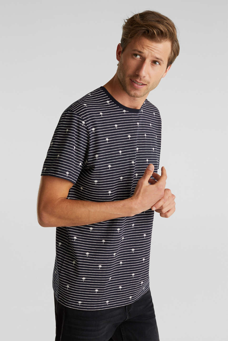 edc - Jersey-Shirt aus 100% Organic Cotton