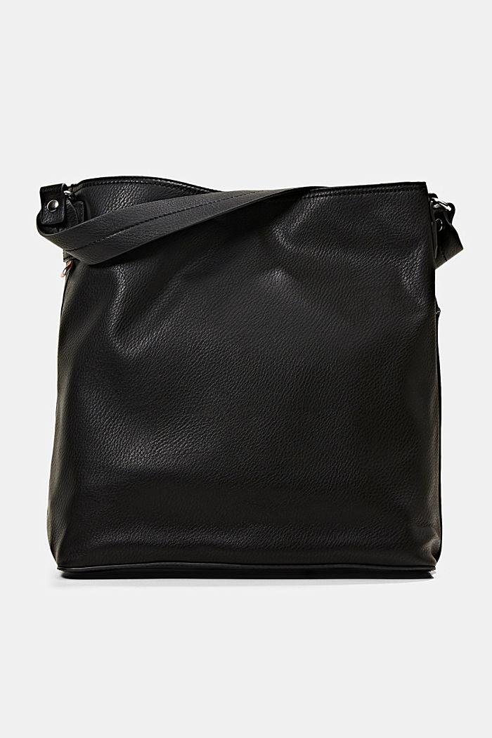 Hobo-Bag in Leder-Optik