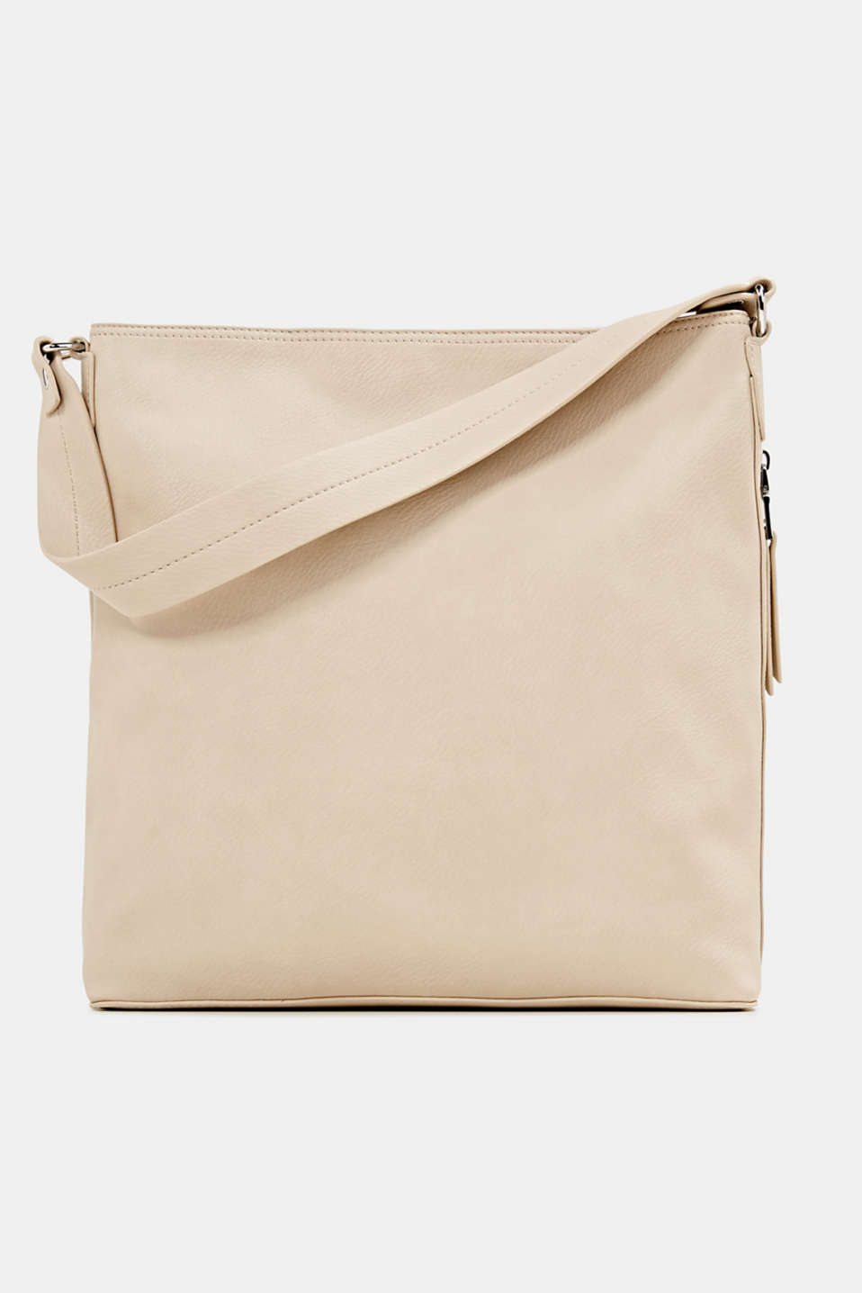 Esprit - Hobo bag in leerlook
